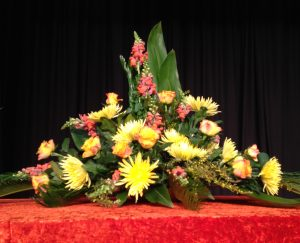 Fun and FLair with flowers - demonstration